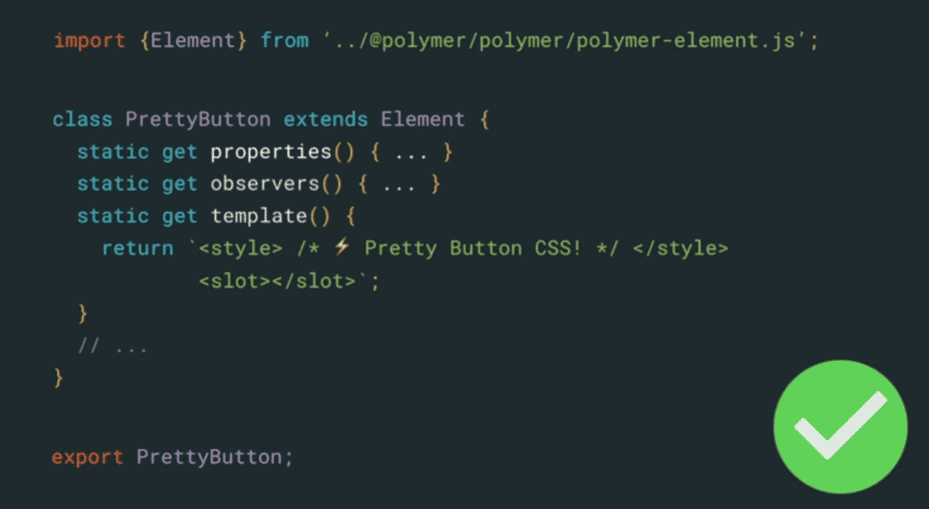 Polymer 3 0 moves to NPM and ES6 Modules with templates in